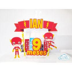 Topo de bolo Flash