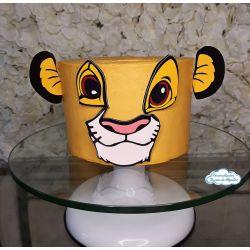 Topo de bolo Simba - Rei leão