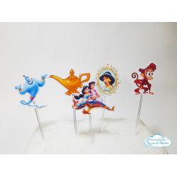 Topper de docinho Aladdin