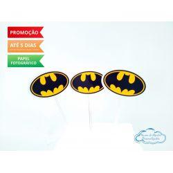 Topper de docinho Batman