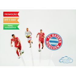 Topper de docinho Bayern Munchen