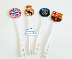 Topper de docinho Champions League