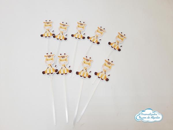 Topper de docinho Girafa-Topper de docinho Girafa  Fazemos em qualquer tema.  - Papel fotográfico glossy 230g  - Acompa