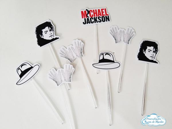 Topper de docinho Michael Jackson-Topper de docinho Michael Jackson Fazemos todos os temas    Na hora do seu pedido informe os dado