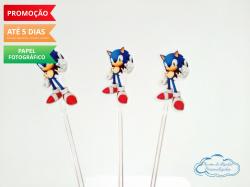 Topper de docinho Sonic-Topper de docinho Sonic Fazemos todos os temas    Na hora do seu pedido informe os dados para per
