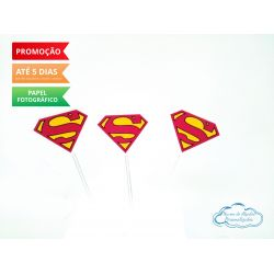 Topper de docinho Superman